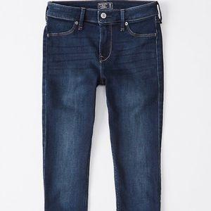 Mid rise super skinny jean leggings